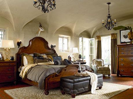 Ernest Hemingway Barklay panel bed