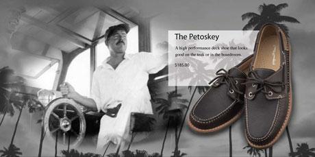Ernest Hemingway deck shoes