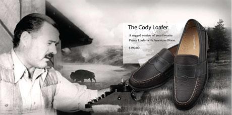 Ernest Hemingway loafers