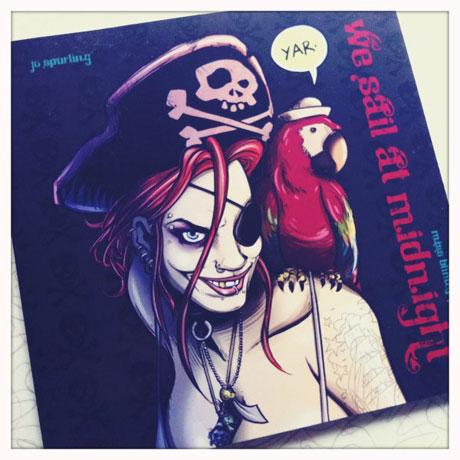 Miss Blimey Pirate Girl