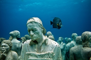 silent_evolution_002_jason-decaires-taylor_sculpture