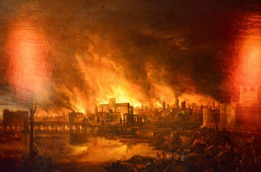 great-fire-of-london-painting